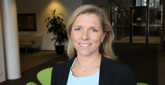 Photo: Fredrika Johnsson, Head of Fund Information, Investment Management
