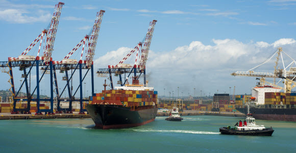 Port in South Africa (the picture doesn't illustrate any of the fund's investments)