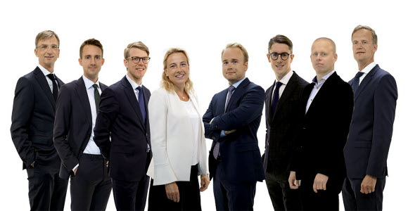 Photo of the Swedish Nordic Equities Team