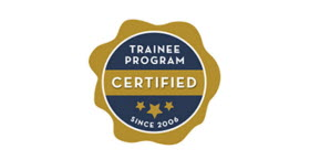 Certified trainee logo