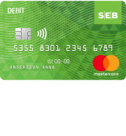 SEB Debit card