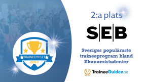 SEB on 2nd place - Most popular trainee program among Business students