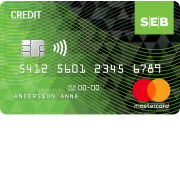 SEB Credit card