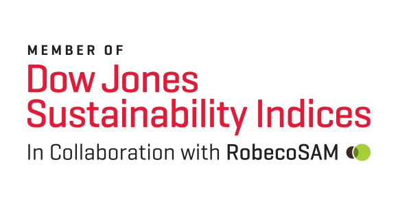 Logo: Dow Jones Sustainability Index